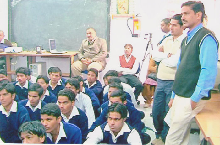 Career Counseling at Govt Boys SSS Ghitorni dated 18 Dec 2010 002