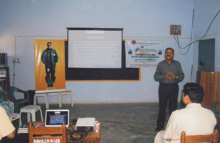 Career Counselling at DAV Kosli Rewari date 29 March 2010 003