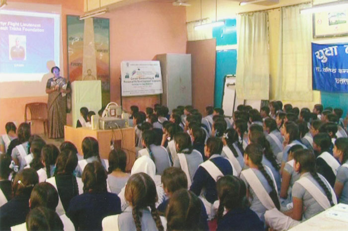 career counseling at Govt ss Girls school Chattarpur  new Delhi 001